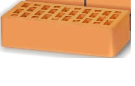Кирпич Воротынский персик одинарный