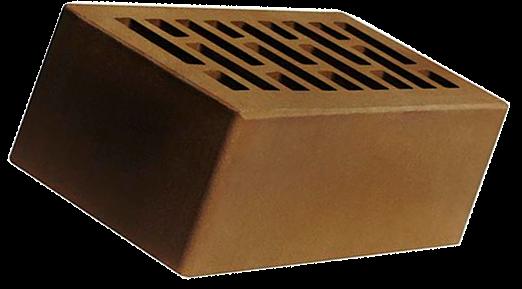 Кирпич коричневый полуторный Брянский Строма
