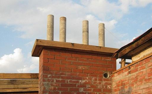 Как и чем укрепить асбестоцементный дымоход