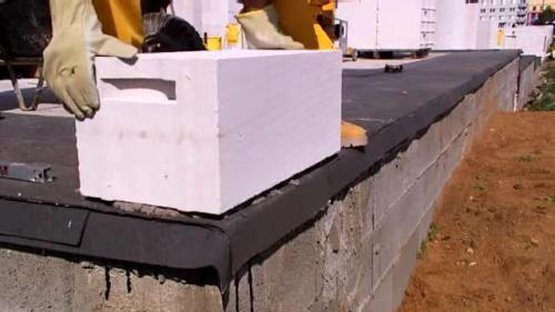 Технология возведения стен из газобетонных блоков