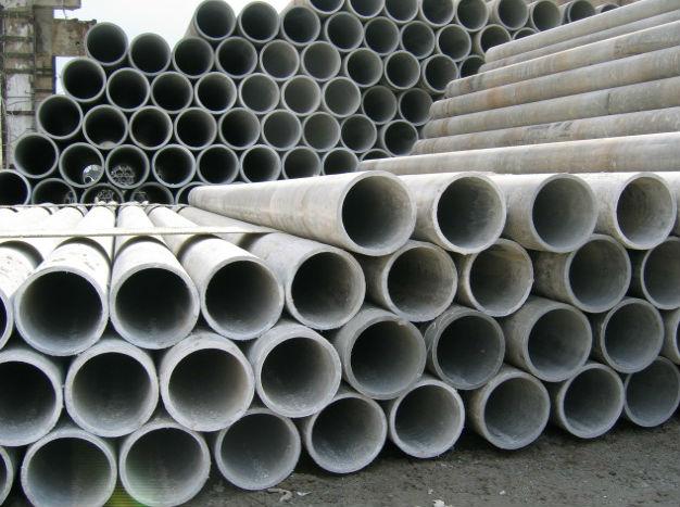 Монтаж трубопровода из асбестоцементных напорных труб
