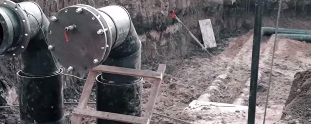 Особенности прокладки линий водоснабжения из напорных асбестоцементных труб