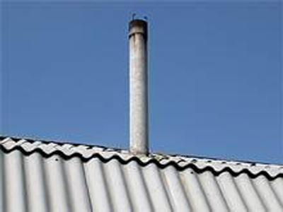 Применение асбестоцементной трубы для гильзования старых дымоходов