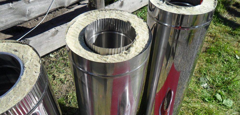 Как врезать тройник в асбестоцементную трубу для дымохода