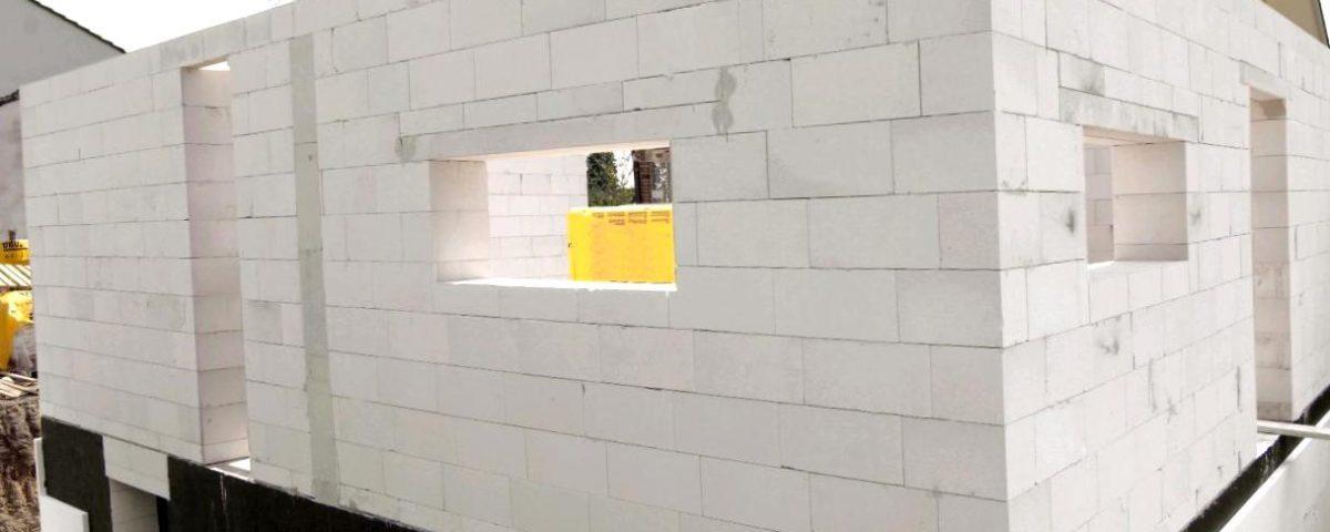 Возможные размеры газобетонных блоков для несущих стен